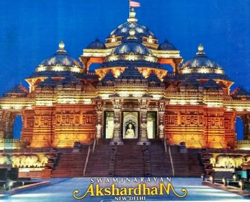 Outer View of Akshardham Temple