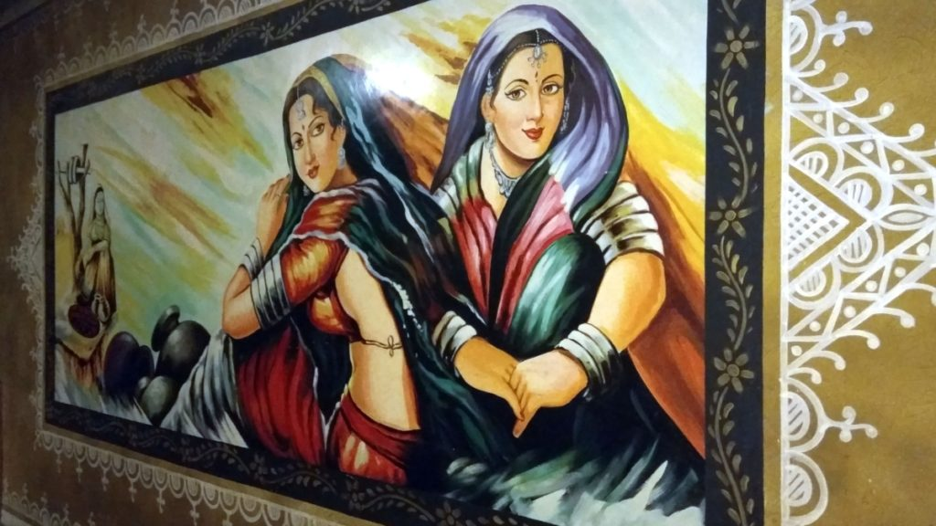 beautiful traditional painting