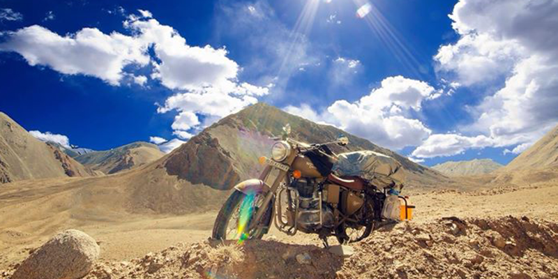 Simla to Leh with Motorcycle Touring
