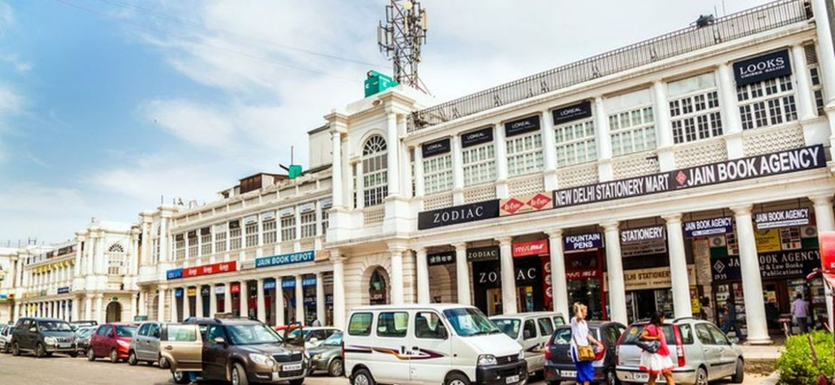 Connaught place Shopping Market