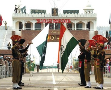 India and Pakistan Border