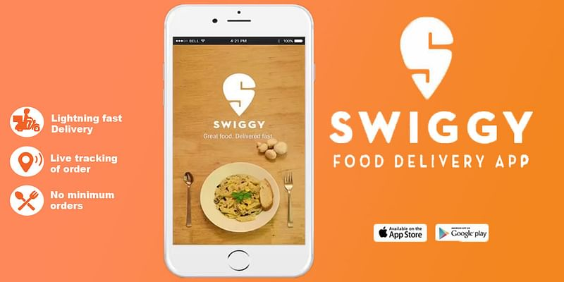swiggy top 10 food ordering app