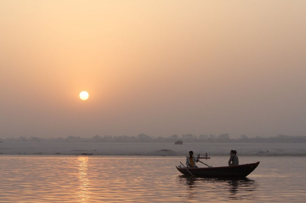 Early Morning Boat Ride on the Ganga