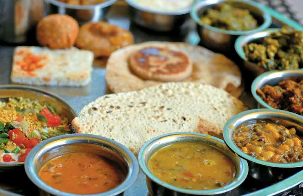 Gujarati Mouth-Watering Food