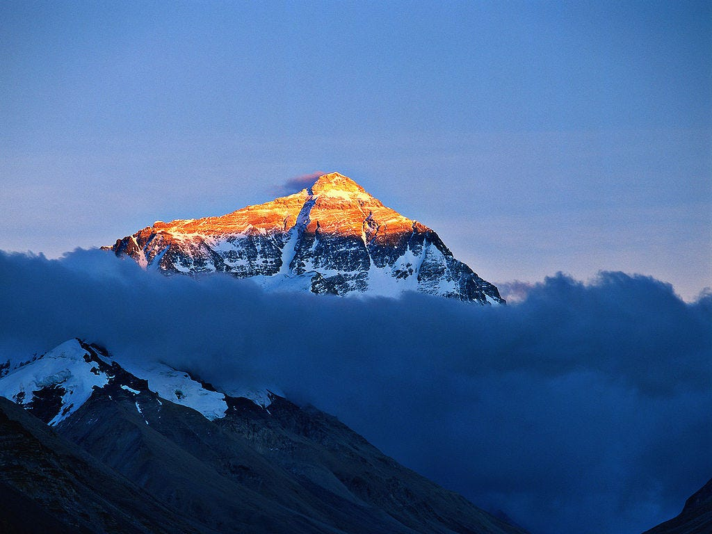 More Than Mount Everest